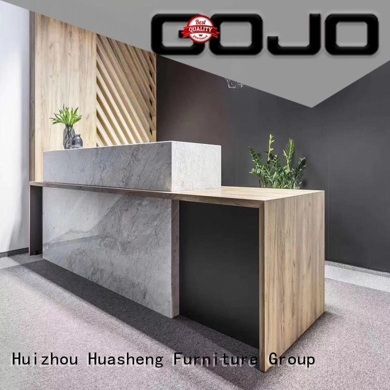 GOJO office front desk good design for reception area