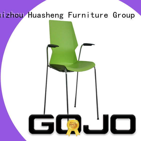 stylish lounge chairs with casters for reception area GOJO