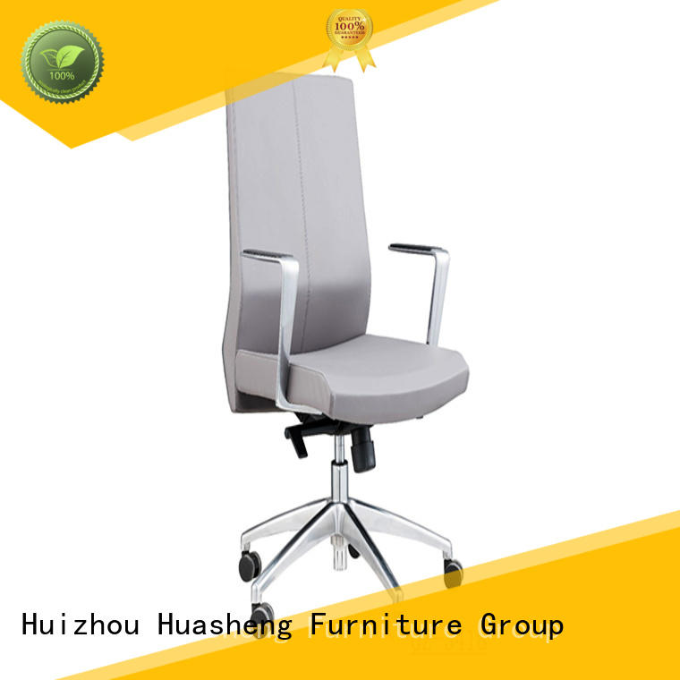 GOJO high end luxury office chair with aluminium foot for executive office
