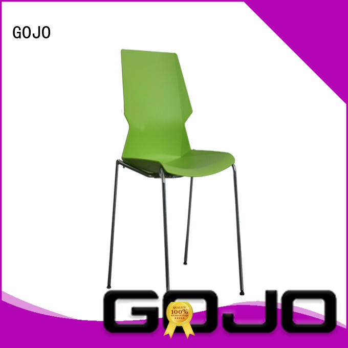 comfy black reception chairs supplier for lounge area GOJO
