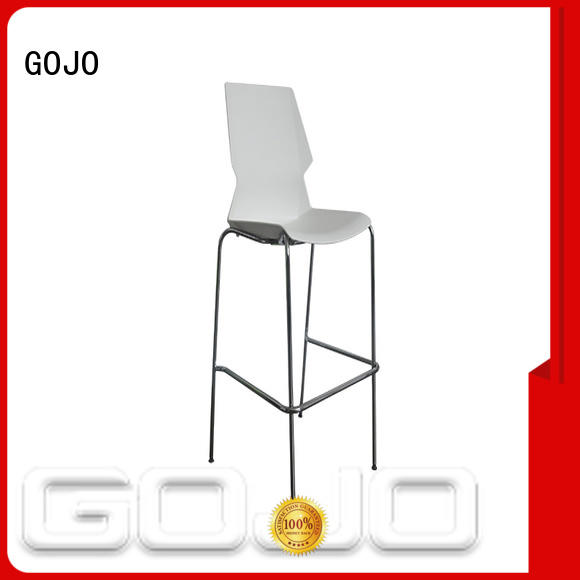GOJO decorative modern reception chairs with casters for lounge area