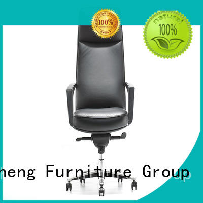 GOJO black leather office chair for business for boardroom