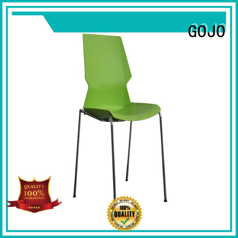 stylish lounge stools with casters for guest room GOJO