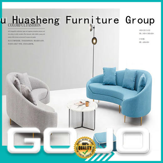 GOJO trend salon waiting room furniture sofa for lounge area