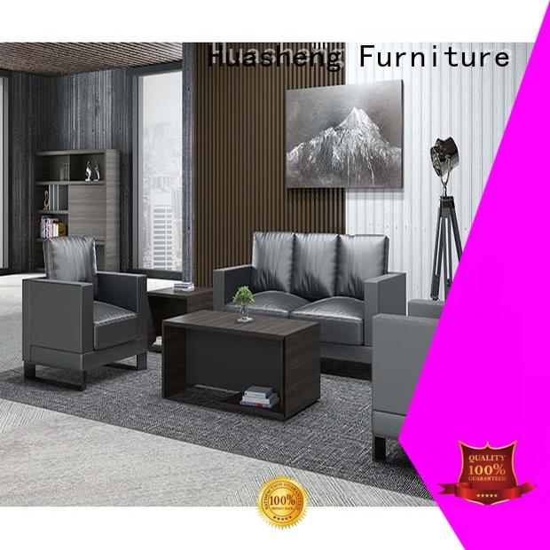 office sofa chair cowhide for guest room GOJO