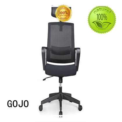 GOJO high back executive chair with lumbar support for executive office