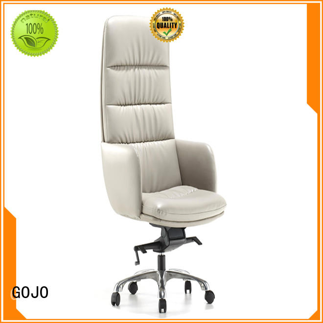 high end leather swivel office chair supplier for boardroom