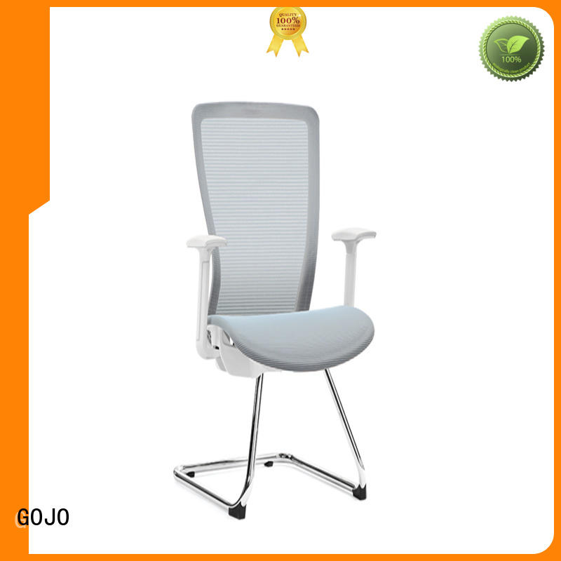 mesh ergonomic mesh office chair with nylon tall feet for executive office