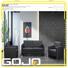 cowhide commercial reception furniture manufacturer for guest room GOJO
