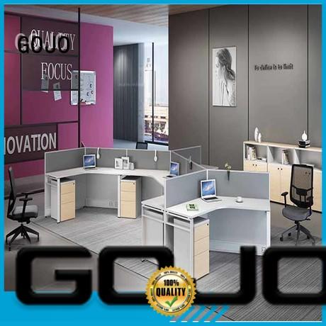 blue office partitions with grade mfc board for office