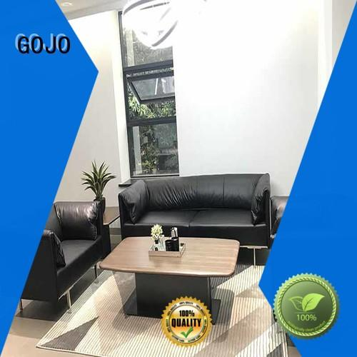 GOJO quiet waiting room table and chairs sofa for guest room