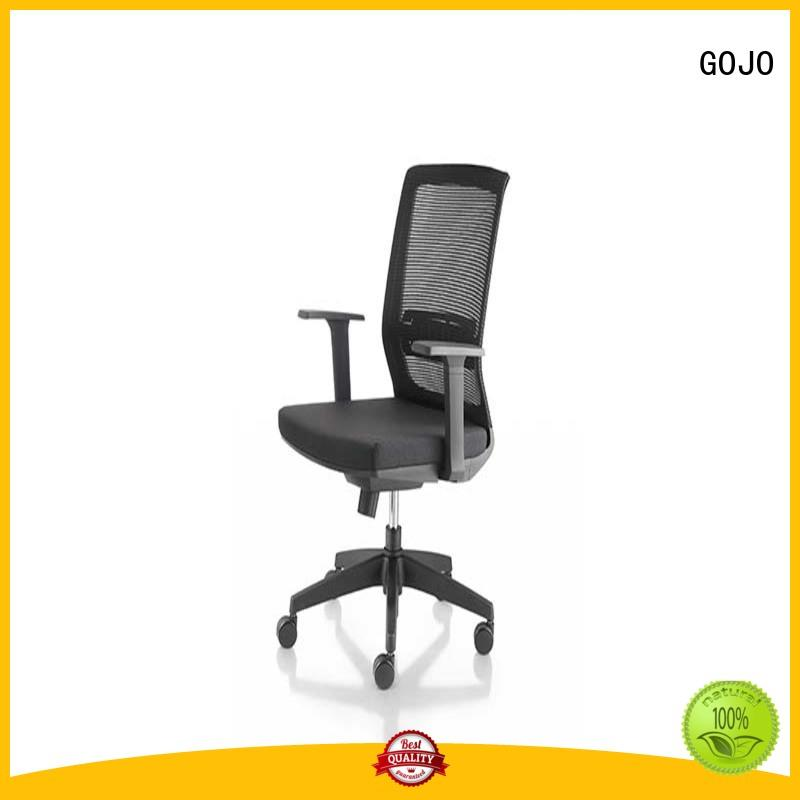 GOJO genuine big and tall executive chair with lumbar support for boardroom