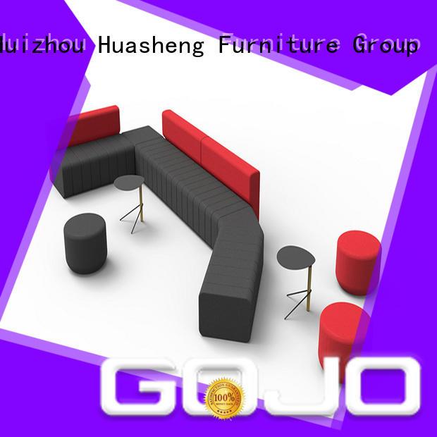 GOJO yuche waiting room sofa manufacturer for lounge area