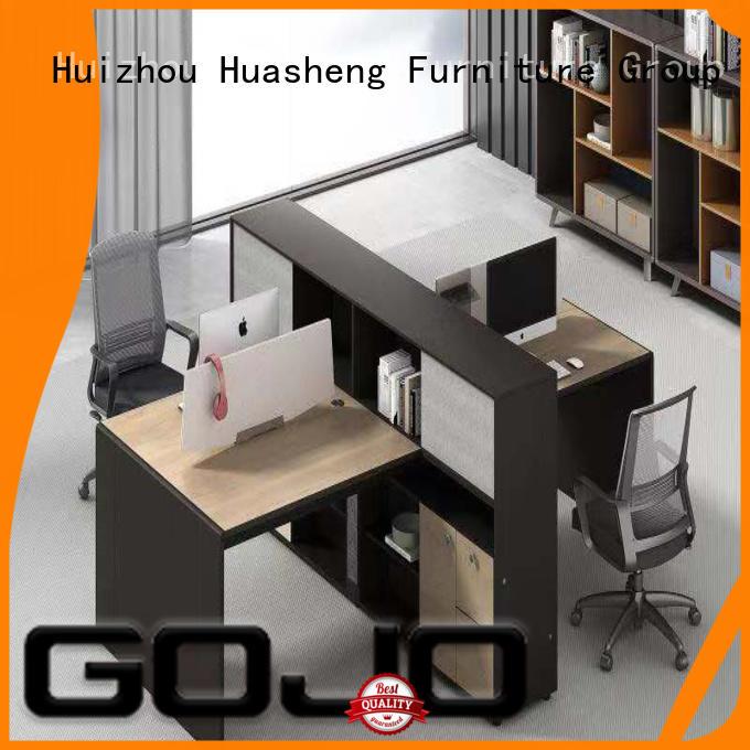 bulk white office table for clerk area