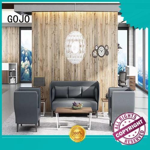 GOJO sofa and chair set sofa for reception area