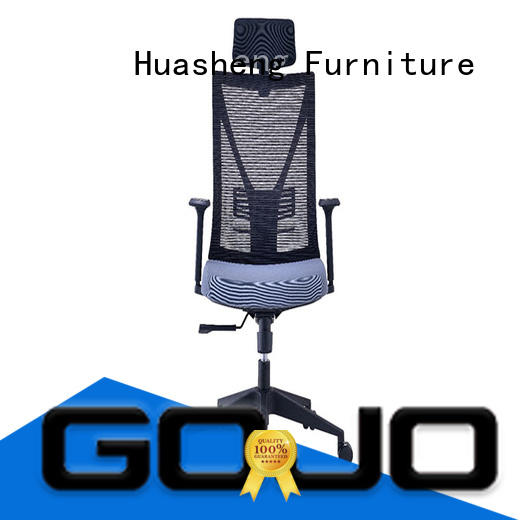 GOJO yihe comfortable executive chair with new white paint feet for executive office
