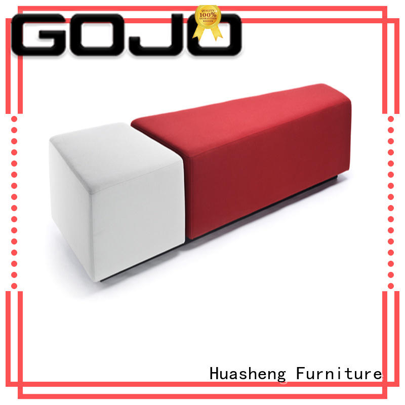 GOJO yuche modern lobby furniture couch for lounge area