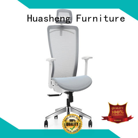 most executive chair with aluminium alloy feet for boardroom