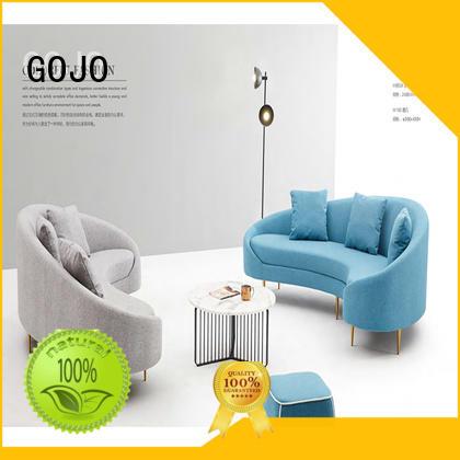 GOJO rico reception sofa set for guest room
